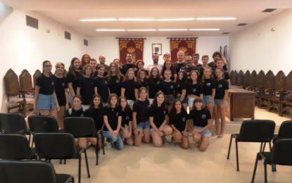 """El alcalde ha recibido a los integrantes de la Joven Orquesta Sinfónica """"Ciudad de La Línea"""""""