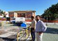 Iniciados los trabajos de mejoras de los parques infantiles de la ciudad
