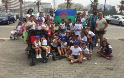 Alcaidesa Marina recibió a los niños y niñas del campamento de verano de Nakera Romi