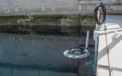 El Departamento del Medio Ambiente comienza a probar la primera Seabin de Gibraltar