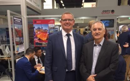 Manuel Tirado asiste a SMM Trade Fair en Hamburgo