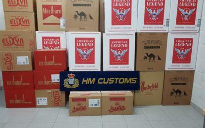 Aduanas de Gibraltar detiene al propietario de una tienda por incumplir la licencia para la venta de tabaco