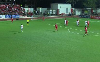 Macedonia gana 0-2 en el Victoria Stadium a Gibraltar en La Liga de las Naciones
