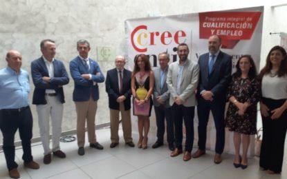 El alcalde ha participado esta mañana en la inauguración de la III Feria del Empleo organizada por la Cámara de Comercio en el Palacio de Congresos