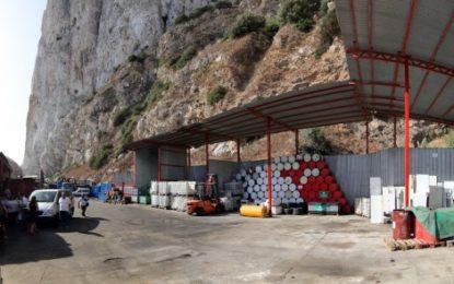 Ecopark, reubicado en Europa Advance Road, tras las caídas menores de rocas en Gibraltar
