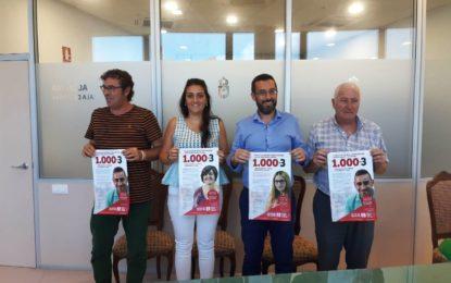 """El alcalde ha participado en la presentación de la campaña """"El Reto"""" de Nuevo Hogar Betania"""