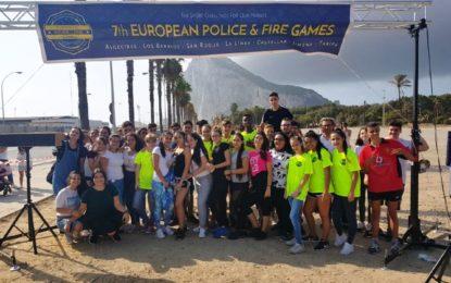 59 deportistas participaron en las distintas modalidades de las pruebas de ciclismo en los VII Juegos Deportivos de Policías y Bomberos