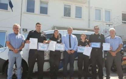 La Agencia de Fronteras y Guardacostas da la bienvenida a cuatro nuevos reclutas en Gibraltar