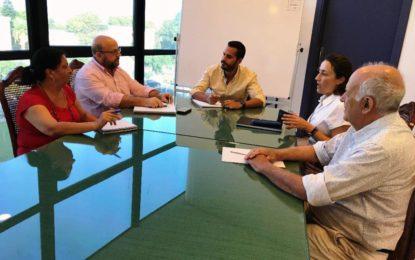 Comunicación, Participación Ciudadana y Urbanismo estudian con el equipo redactor del PGOU acciones de difusión del nuevo plan