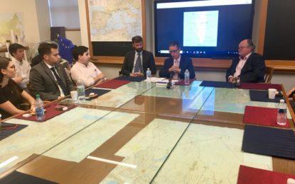 García afirma el derecho a la autodeterminación de Gibraltar en la Universidad de Princeton