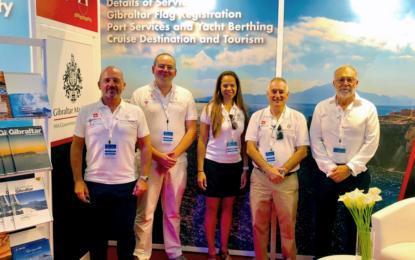 Gibraltar estuvo representado en el Monaco Yacht Show