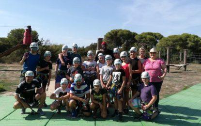 Laguna Youth Club de Gibraltar visita El Puerto De Santa María