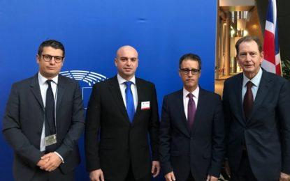 El Viceministro Principal de Gibraltar actualiza a los eurodiputados en Estrasburgo sobre los últimos acontecimientos del Brexit