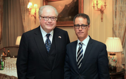 El Viceministro Principal refuerza los lazos con Estados Unidos durante su visita a Nueva York