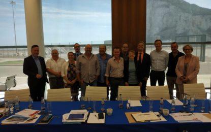 Europarlamentarios británicos se reunen con el Grupo Transfronterizo