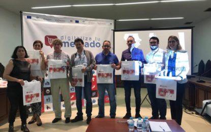 Comerciantes del Mercado de La Concepción asisten a una jornada formativa del proyecto Digitaliza tu Mercado