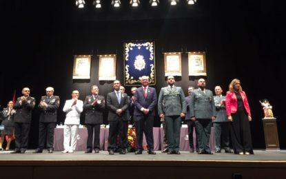 El director general de la Policía, Francisco Pardo, preside en La Línea el acto institucional  para Andalucía Occidental  del Día de la Policía
