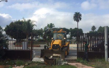 Comienza la rehabilitación integral de la Casa de la Juventud En un plazo de tres meses se acometerán reparaciones y mejoras  en los edificios y zona ajardinada