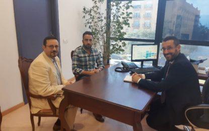 El alcalde recibe a los nuevos responsables de La Copla