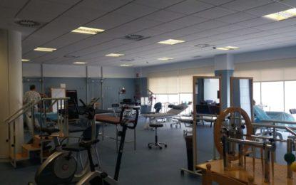 Los profesionales de la Unidad de Rehabilitación del nuevo Hospital de La Línea realizan 34.000 asistencias en su primer año
