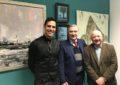 El ministro Steven Linares inaugura la exposición 'Rock To The City'