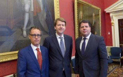 Picardo y García se reúnen con diversos Ministros británicos tras haberse finalizado el Acuerdo de Salida de la UE