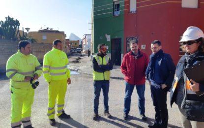 Hoy se han iniciado las obras del IV Plan de Asfaltado en las calles Archena y Claudio Coello