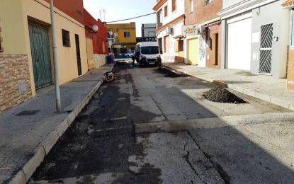 El VI Plan de Asfaltado contempla actuaciones en más de una docena de calles