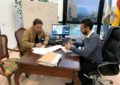 Firmado el contrato para la peatonalización y reurbanización del centro urbano