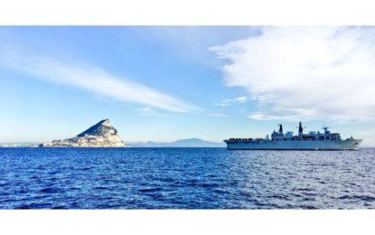 HMS Albion atracará el sábado en Gibraltar tras participar en maniobras conjuntas con Francia, Japón, Brunei y Omán