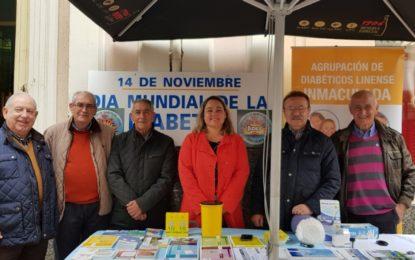 Sanidad colabora con la Asociación de Diabéticos Linense Inmaculada en su jornada de información