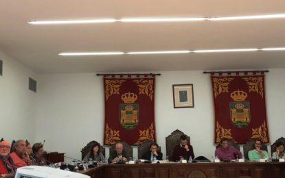 El pleno dio luz verde a la moción presentada por el grupo andalucista, además de al convenio colectivo del personal laboral municipal