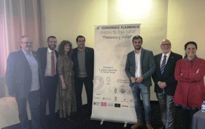 """Inaugurado el II Congreso Flamenco Antonio El Chaqueta """"Flamenco y Salud"""