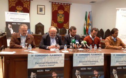 """Presentadas las actividades complementarias del II Congreso de Flamenco Antonio El Chaqueta """"Flamenco y Salud"""""""