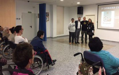 El alcalde asistió a la clausura de la VI Semana Cultural del Centro Polivalente FEGADI COCEMFE