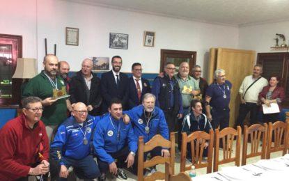 El alcalde acude a la entrega de premios del XVII Trofeo de Tiro Deportivo