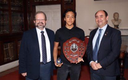 """Angelo Galdez, """"Premio Giovanni Sene"""" de la Royal Life Saving Society"""