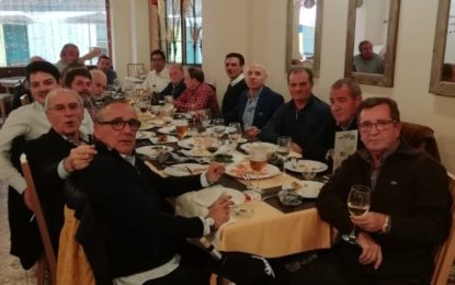 Almuerzo de los amigos de la Peña de la Concha Fina