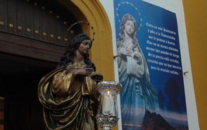 Fervor en La Línea con la procesión de su Patrona, la Inmaculada Concepción (Galería de fotos y videos)