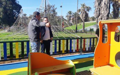 Formalizado el contrato para la regeneración de  un espacio asfaltado en el parque Princesa Sofía