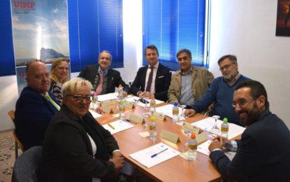 El alcalde asiste a la reunión del Patronato de la UIMP Campo de Gibraltar con sede en La Línea