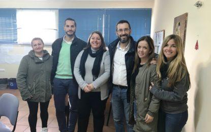 El alcalde ha visitado esta mañana el colegio Pedro Simón Abril, galardonado con el premio Acción Magistral