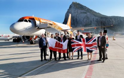 esasyJet amplía la frecuencia en todas su rutas de Gibraltar a Reino Unido