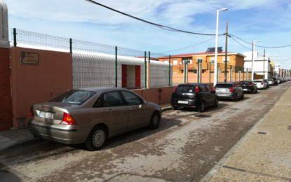 Educación confirma la finalización de los trabajos de sustitución y elevación de los cerramientos externos en el CEIP Atunara
