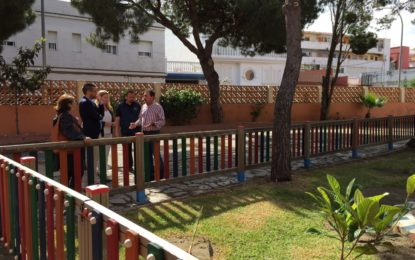 Educación realiza trabajos de mantenimiento en los centros Pablo Picasso y Las Mercedes