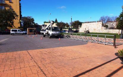 Iniciados los trabajos de reparación y conservación de instalaciones eléctricas del municipio