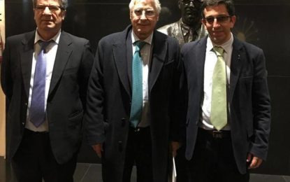 Juan Chacón viaja a Madrid para plantear la cuestión de la Singularidad y de un trato especial para La Línea