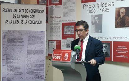 Juan Chacón anuncia su compromiso de impulsar      la creación una Renta Municipal de Ciudadanía