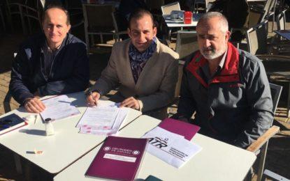 Clínicas Dr. Espinel ha firmado un convenio de colaboración con la Agrupación Deportiva, Recreativa y Cultural de PETRESA
