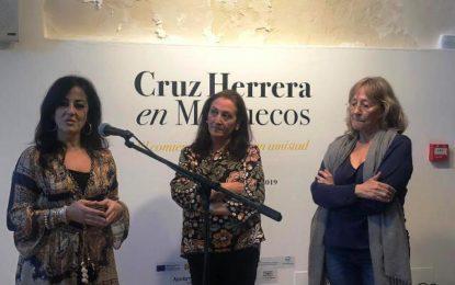 La concejal de Cultura ha participado en la inauguración de la exposición de Cruz Herrera en Cádiz